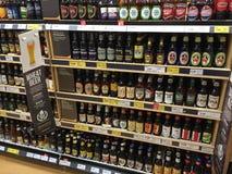 Biervertoning Stock Foto