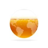 Bierwelt lizenzfreie abbildung