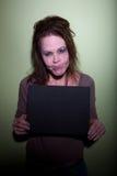 bierze kobiety sfrustowany mugshot Obrazy Royalty Free