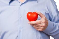 Bierze opiekę twój serce! Obrazy Stock