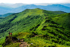 bieszczady βουνά Στοκ φωτογραφία με δικαίωμα ελεύθερης χρήσης