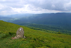 bieszczady горы стоковое изображение rf