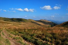 bieszczady горы стоковые фото