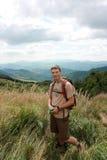 bieszczady горы trekking стоковые изображения