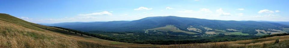 bieszczady панорама гор стоковые изображения rf