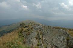 Bieszczady berg Royaltyfria Foton