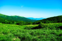 Bieszczady Berge Stockfotografie