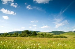 Bieszczady, Bystre, Poland Royalty Free Stock Images