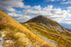Bieszczady mountain in Poland Stock Images