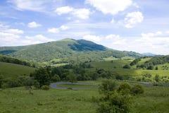 Bieszczady Mountains Stock Photography