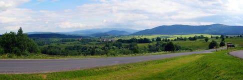 Bieszczady mountains Stock Image