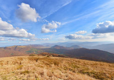 Bieszczady mountains Royalty Free Stock Photos