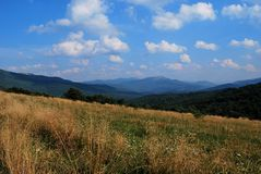 Bieszczady Mountains Royalty Free Stock Photo