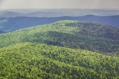 Bieszczady Mountains in Poland Stock Images
