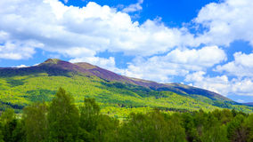 Bieszczady Mountains, Poland Royalty Free Stock Photography