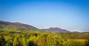 Bieszczady Mountains, Poland Royalty Free Stock Photos