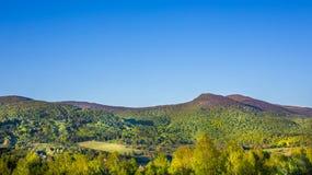 Bieszczady Mountains, Poland. Landscape of Poloniny range in Bieszczady Mountains, Poland Stock Images