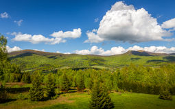 Bieszczady Mountains, Poland Stock Image