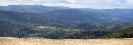Bieszczady mountains in Poland Royalty Free Stock Photo