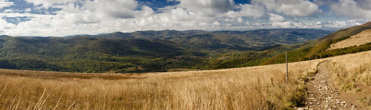 Bieszczady mountains in Poland Royalty Free Stock Image
