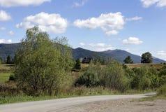 Bieszczady mountains, Poland. View on the hills, Bieszczady mountains, Poland Stock Photography