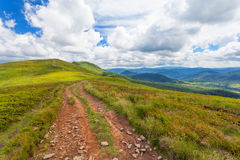 Bieszczady - mountains in Poland Stock Images