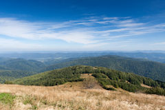 Bieszczady mountains in south east Poland Stock Images