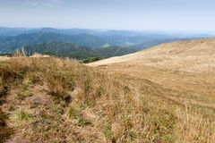 Bieszczady mountains in south east Poland Royalty Free Stock Photo