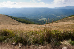 Bieszczady mountains in south east Poland Royalty Free Stock Photography