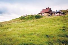 Bieszczady mountains. In south-east Poland, Polonina Wetlinska, Chatka Puchatka stock photos