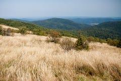 Bieszczady mountains in south east Poland Stock Photo