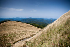 Bieszczady mountains in south east Poland Royalty Free Stock Image