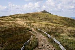 Bieszczady National Park in Poland. Royalty Free Stock Image