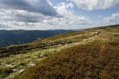 Bieszczady National Park in Poland. Royalty Free Stock Images
