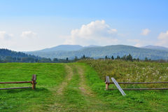 Bieszczady National Park. In Poland. Polish mountains Stock Images