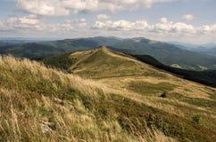Bieszczady nationalpark i Polen Fotografering för Bildbyråer