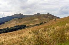 Bieszczady nationalpark poland Fotografering för Bildbyråer