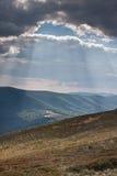 Bieszczady - połysk góry Zdjęcia Royalty Free