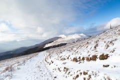 Bieszczady Winter Stock Photo