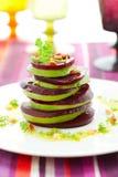 Bieten en avocado Royalty-vrije Stock Afbeeldingen