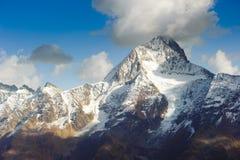 Bietschorn mountain peak Royalty Free Stock Image
