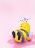 biförälskelse stock illustrationer