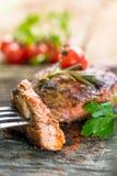 Bife, carne, jantar, almoço Fotografia de Stock Royalty Free