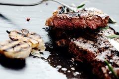 Bife com especiarias Fotografia de Stock