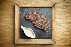 Bife cortado Picanya fotos de stock royalty free