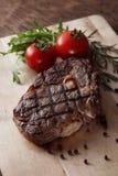 Bife da carne da grade fotografia de stock royalty free