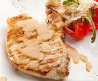 Bife da carne de porco Foto de Stock Royalty Free
