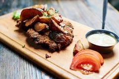 Bife da carne de porco Imagens de Stock