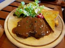 Bife da carne de porco Imagens de Stock Royalty Free