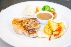 bife da Carne de porco-loja Fotos de Stock Royalty Free